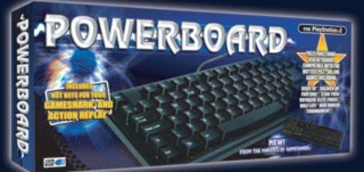 Datel Powerboard keyboard