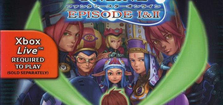 PSO Xbox USA Cover A
